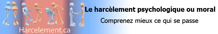 Harc�lement psychologique ou moral